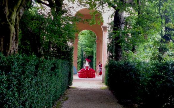 Installations Valsanzibio garden